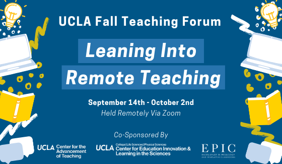 UCLA Fall Teaching Forum Link to Event Details