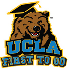 UCLA First to Go Logo